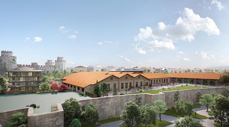 محله تاریخی در ترکیه