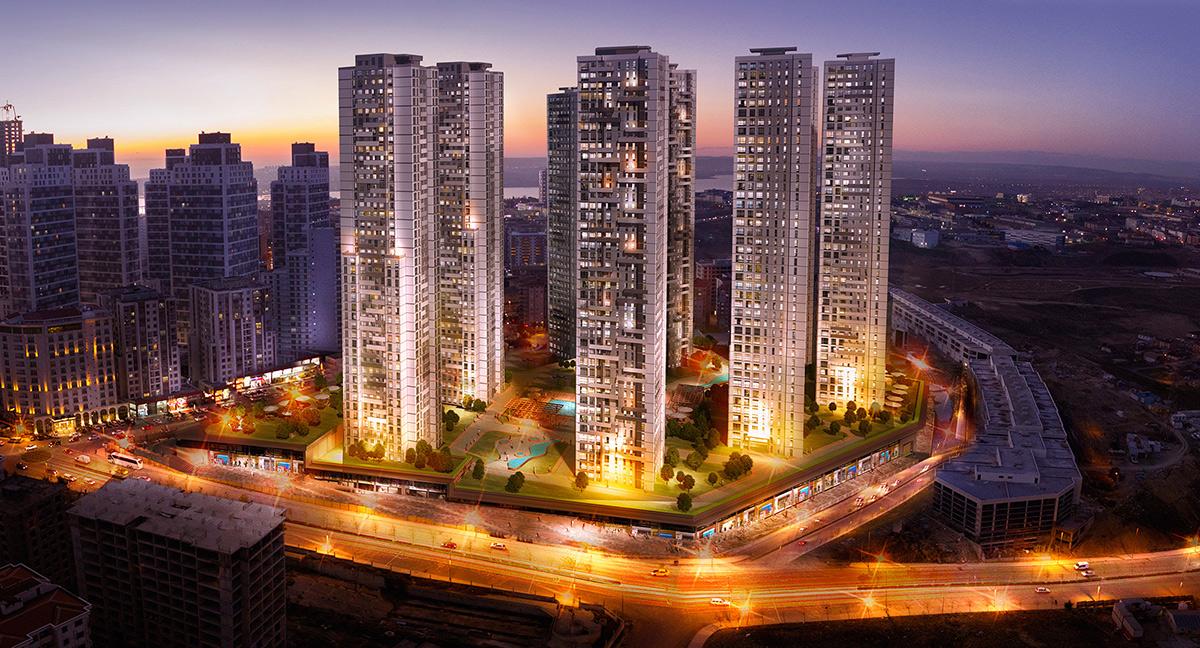 خرید خانه در برج های زیبا