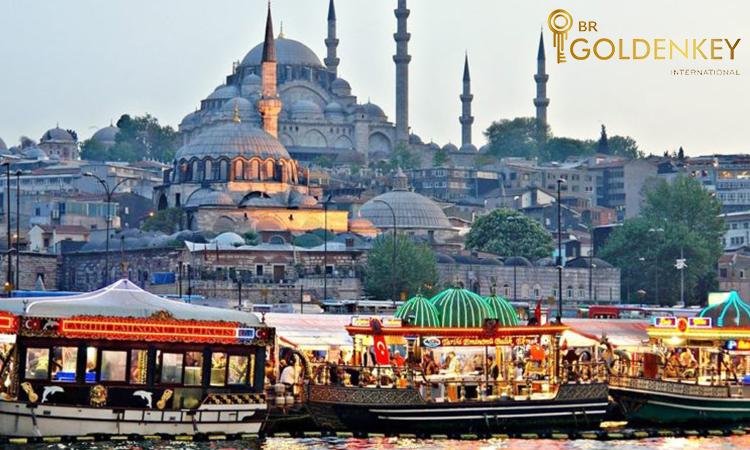 اقامت توریستی بدون ویزا ترکیه