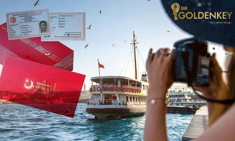 مراحل دریافت اقامت توریستی ترکیه