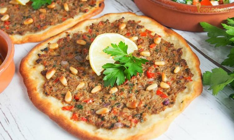 پیتزا گوشت ترکی