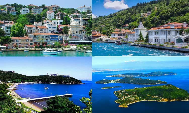 جزایر و مناطق استانبول