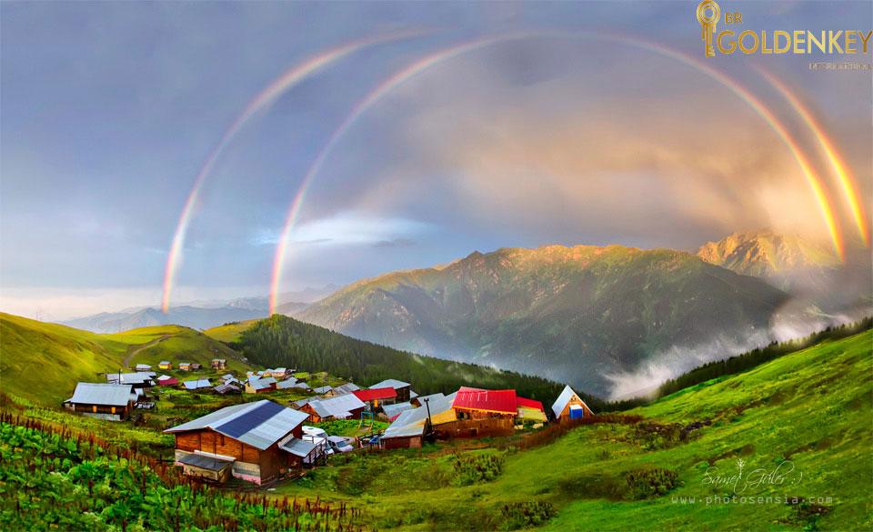 روستای زیبای کارا دنیز