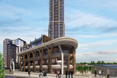 پروژه آپارتمانی در اسنیورت استانبول