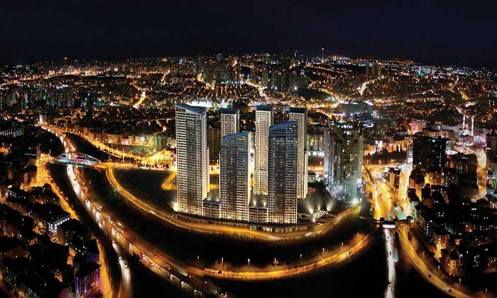 نما از دور پروژه زیبا استانبول