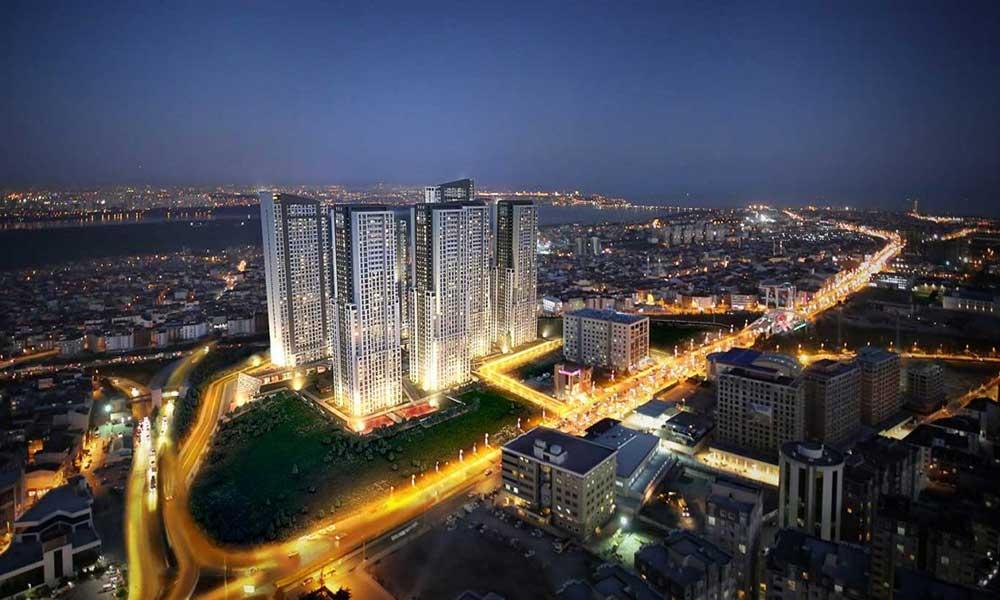 ویو آپارتمان در اسنیورت استانبول