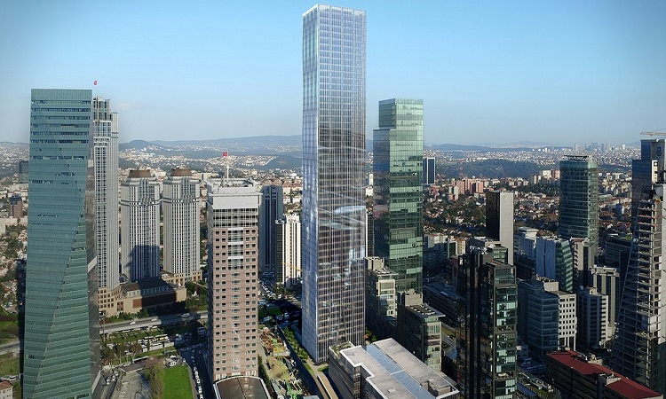 برج های مسکونی و تجاری استانبول