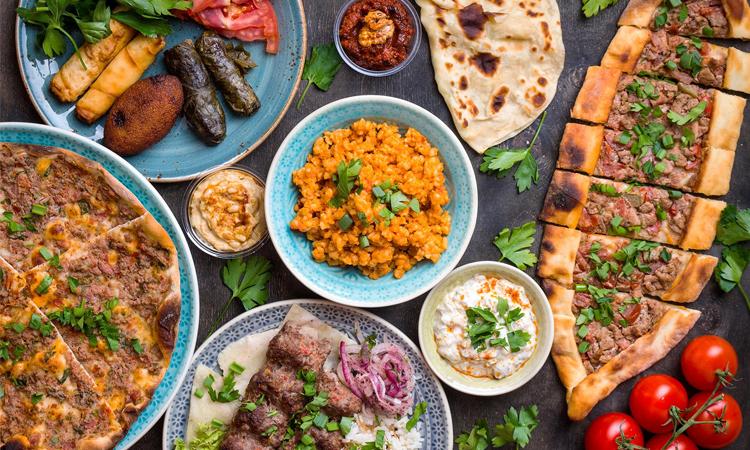 غذا های ترکیه