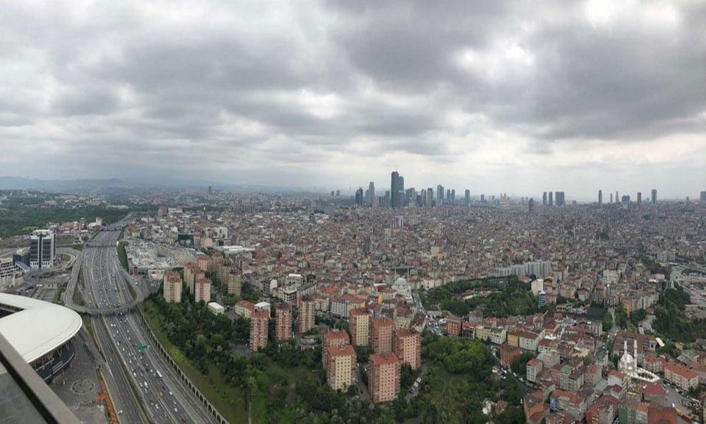 دورنمای برج استانبول