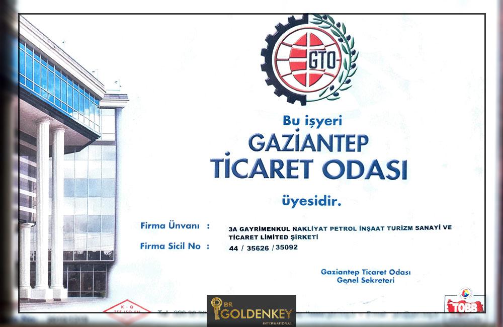 مجوز گلدن کی به زبان ترکی