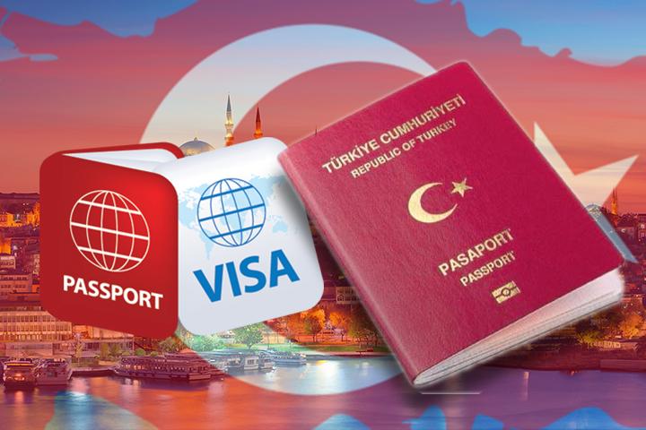 دریافت پاسپورت و ویزای ترکیه