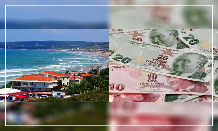 هزینه خانه ساحلی در ترکیه