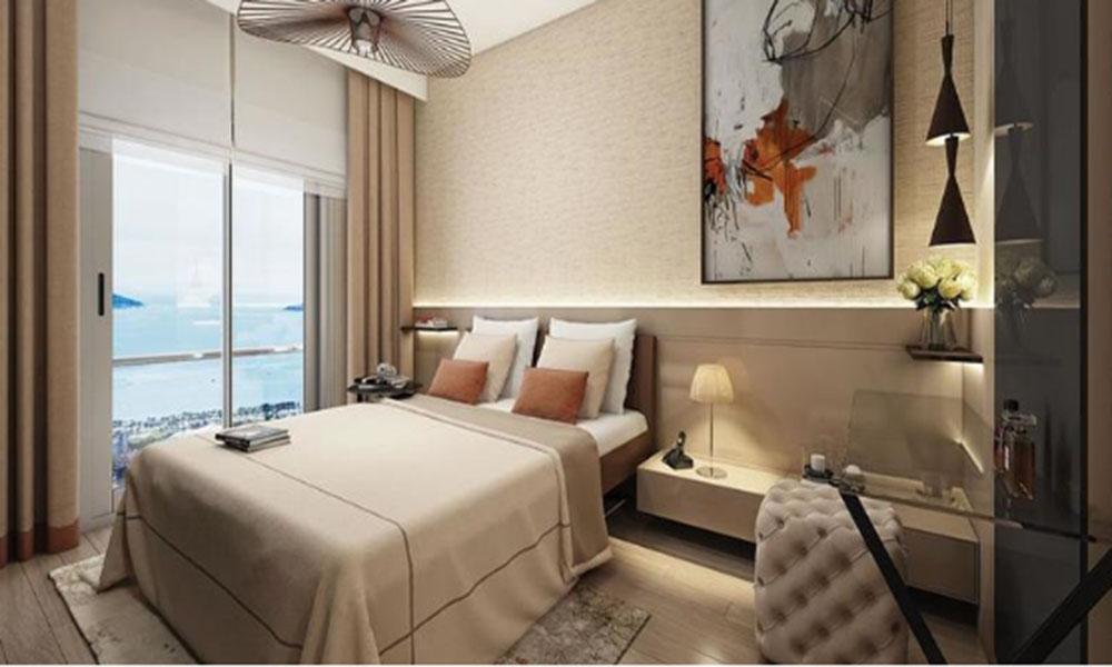 اتاق خواب با دید دریا
