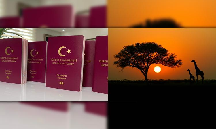 اعتبار پاسپورت ترکیه در آسیا و آفریقا
